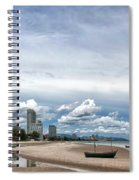 Hua Hin Coastline Spiral Notebook