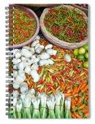 Hua Hin Market 03 Spiral Notebook