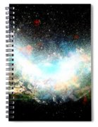 Hubble Birth Of A Galaxy Spiral Notebook