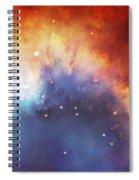 Hubble - Helix Nebula Comet - Like Filaments Spiral Notebook