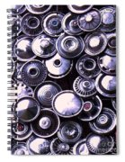 Hubcaps Spiral Notebook