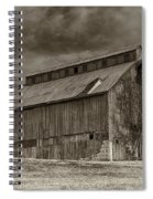 Huber Ferry Barn Osage County Mo Dsc00720 Spiral Notebook
