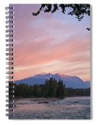 Hudson Bay Mountain British Columbia Spiral Notebook