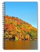 Hudson River Fall Foliage Spiral Notebook