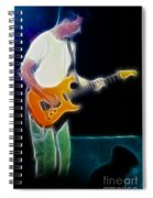 Huey Lewis-chris-gd0a-fractal Spiral Notebook