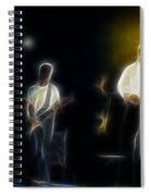 Huey Lewis-ge7-fractal Spiral Notebook