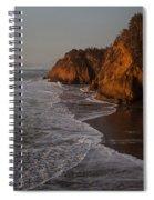 Hug Point Falls Spiral Notebook