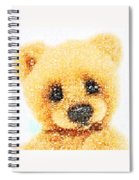 Huggable Teddy Bear Spiral Notebook
