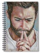 Hugh Jackman Spiral Notebook