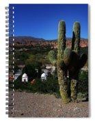 Humahuaca Argentina 2 Spiral Notebook