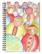 Humains / Human Beings Spiral Notebook