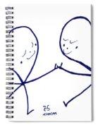 Human To Human Spiral Notebook