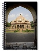 Humayuns Tomb, India Spiral Notebook