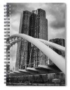 Humber River Arch Bridge 1392 Spiral Notebook