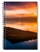 Humboldt Bay Spring Sunrise Spiral Notebook