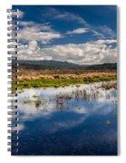 Humboldt Marshes In Spring Spiral Notebook