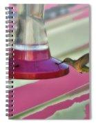 Humming Bird Feeding Spiral Notebook