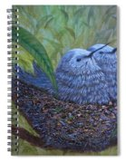 Hummingbird Babies Spiral Notebook