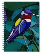 Hummingbird Hamlet Spiral Notebook