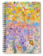 Hummingbird Spring Spiral Notebook