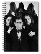 Humphrey Bogart In The Black Legion 1937 Spiral Notebook