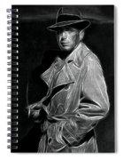 Humphrey Bogart - Pencil Spiral Notebook
