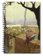 Humpty Dumpty Spiral Notebook