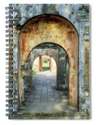 Hung Temple Arches Spiral Notebook