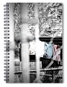 Hung To Dry Spiral Notebook