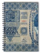 Hungary Banknote, 1902 Spiral Notebook
