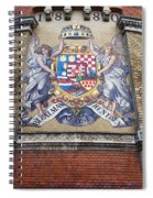 Hungary Coat Of Arms In Budapest Spiral Notebook