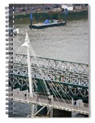 Hungerford Bridge Spiral Notebook