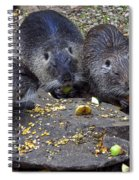 Hungry Critters Spiral Notebook