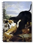 Hunted Bull Spiral Notebook