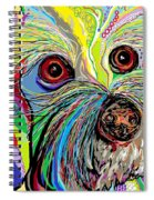 Hunter The Bichon . . . He's A Shoe Man Spiral Notebook