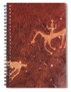 Hunter And The Hunted Spiral Notebook