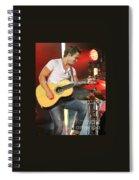 Musician Hunter Hayes Spiral Notebook