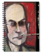 Hunter S. Thompson Weird Quote Poster Spiral Notebook