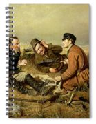 Hunters, 1816 Spiral Notebook