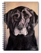 Hunting Buddy Black Lab Spiral Notebook