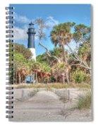 Hunting Island - Beach View Spiral Notebook