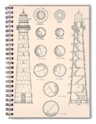 Hunting Island Light Spiral Notebook