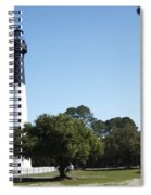 Hunting Island Lighthouse Sc Spiral Notebook