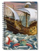 Hunting Sea Creatures Spiral Notebook