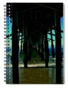 Huntington Beach Pier Spiral Notebook
