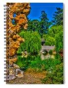 Huntington Gardens Ca Spiral Notebook