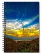 Huron Evening 2 Oil Spiral Notebook