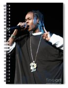 Hurricane Chris Spiral Notebook