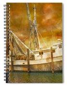 Hurricane Eve Spiral Notebook