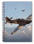 Hurricane - Fighter Sweep Spiral Notebook